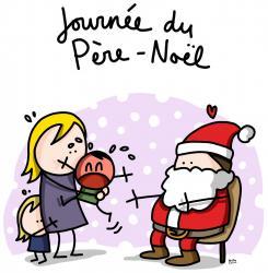 Pere noel rognee