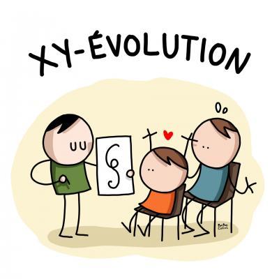 Xy evolution sans